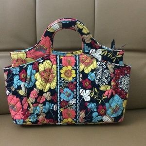 NWOT Vera Bradley Abby Tote Bag Happy Snails